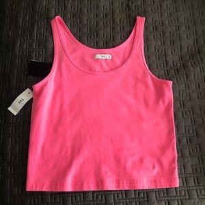 Hot pink tank top